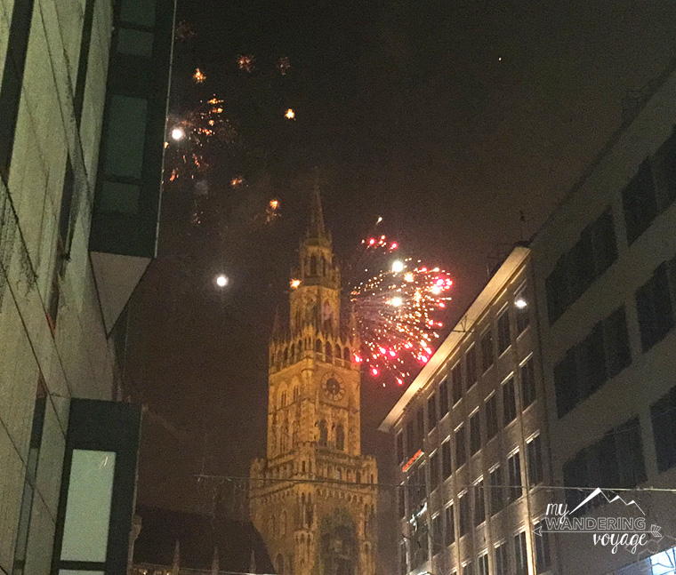 Munich New Year's Eve | My Wandering Voyage travel blog