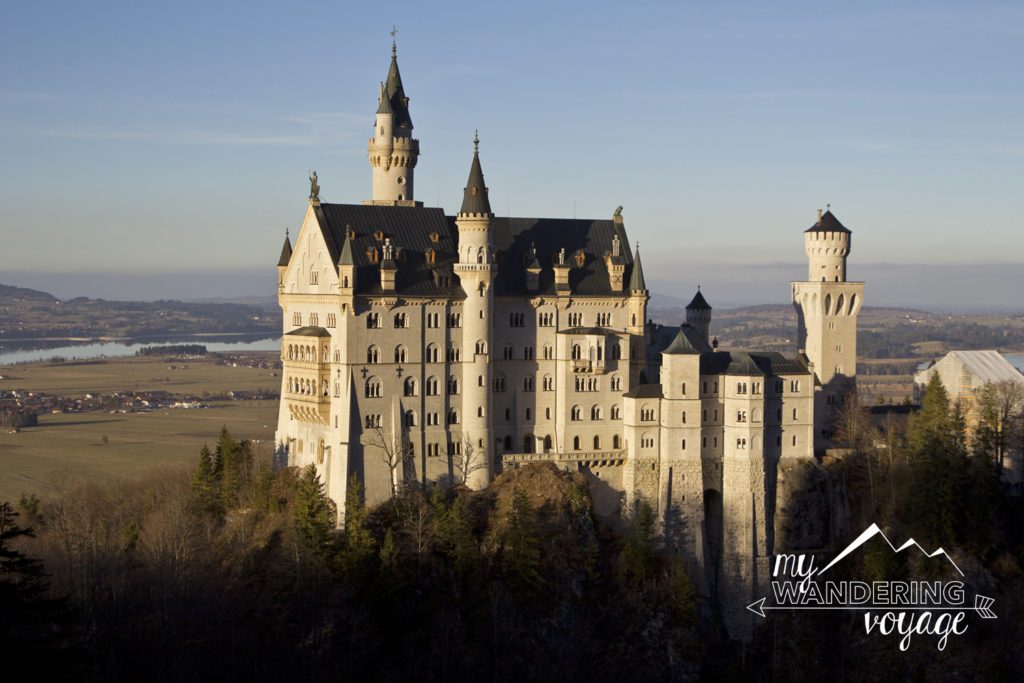 Neuschwanstein castle, fairy tale castle in Germany, Central Europe | My Wandering Voyage travel blog