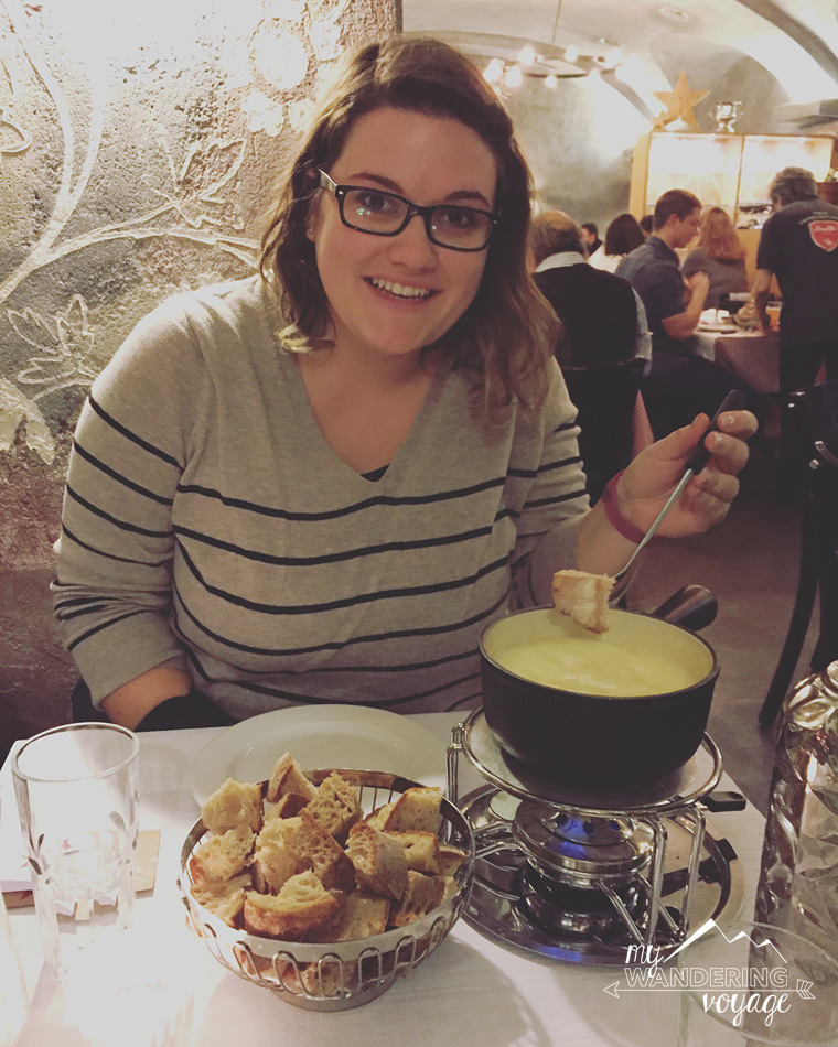 Swiss Fondue in Zurich Switzerland | My Wandering Voyage travel blog