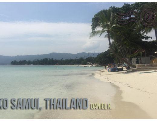 Ko Samui, Thailand - Wandering Postcard | My Wandering Voyage travel blog