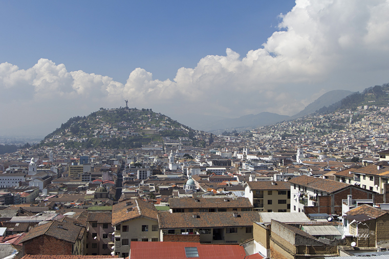 Travel Photography - City view of Quito Ecuador | My Wandering Voyage travel blog