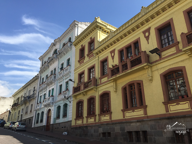 Street in Quito, Ecuador | My Wandering Voyage Travel Blog