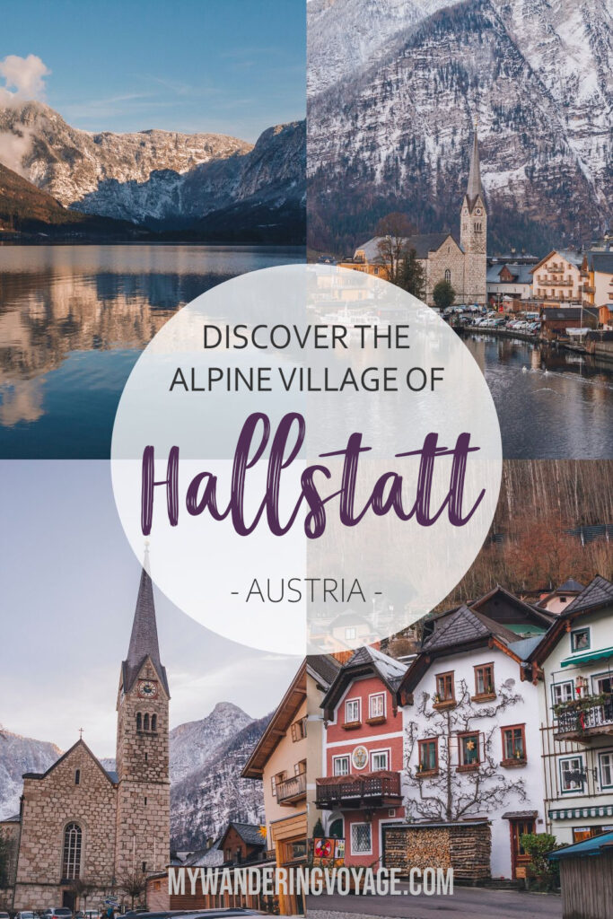 All about Hallstatt, Austria – I completely changed my trip to Central Europe after seeing pictures from Hallstatt. This Austrian town is a must see, here's how to get here and everything you need to see while visiting. | My Wandering Voyage travel blog