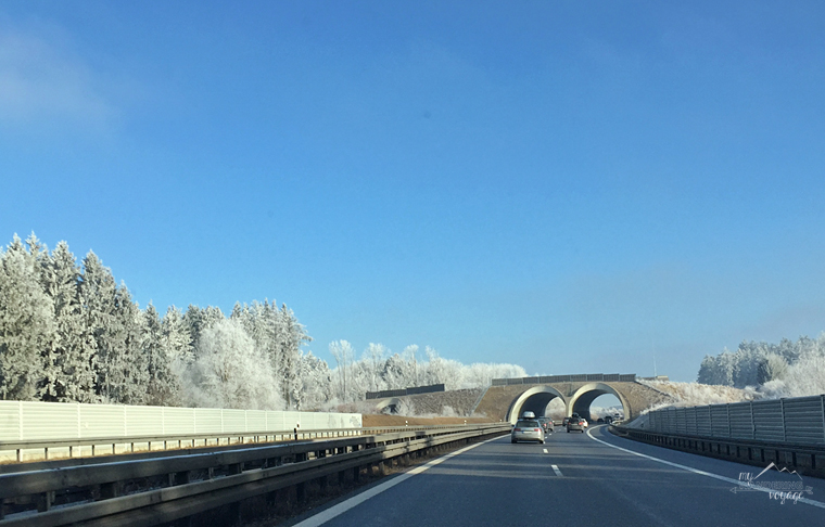 Frosty Alps road trip on the Autobahn | My Wandering Voyage travel blog
