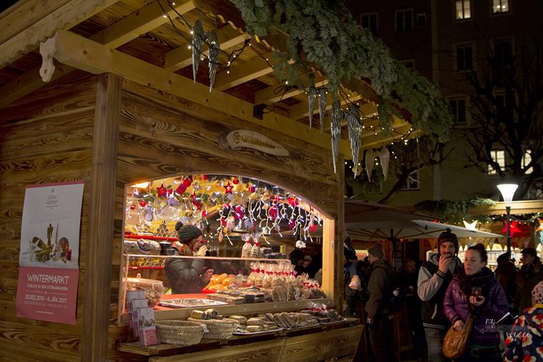 Winter market in Salzburg, Austria | My Wandering Voyage travel blog