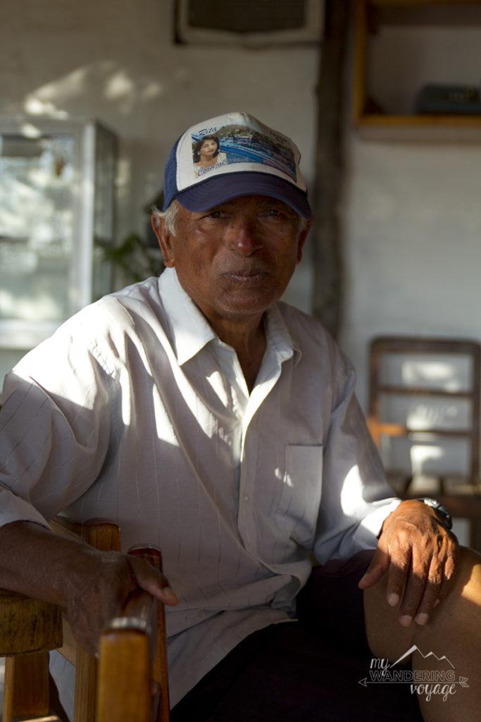 Santiago, homestay owner, Floreana Island, Galapagos | My Wandering Voyage travel blog