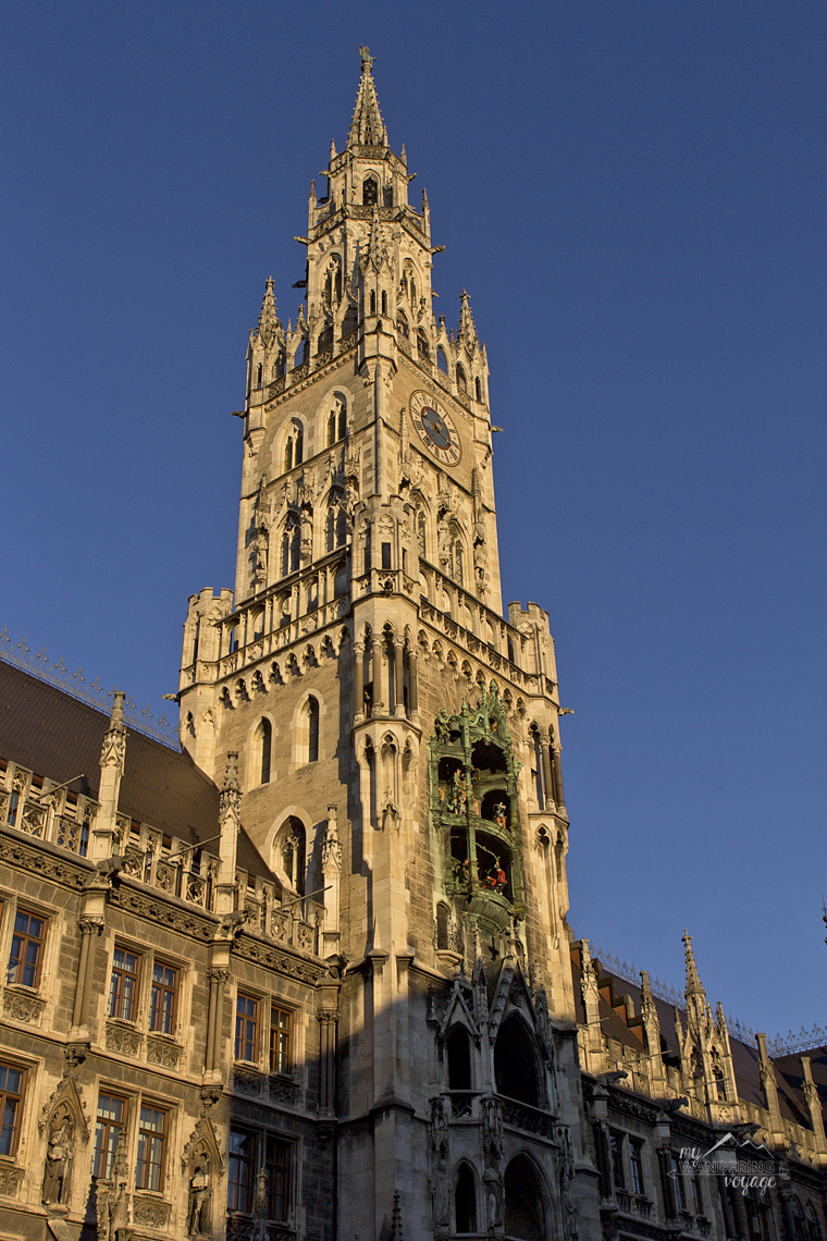 Neus Rathaus, Marienplatz, Munich, Germany - What to do in Munich Germany with limited time | My Wandering Voyage travel blog