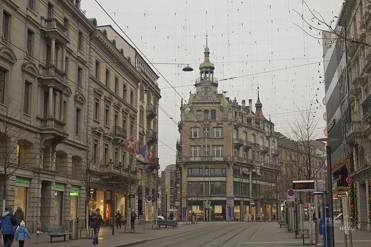 Bahnhoffstrasse Zurich, Switzerland | My Wandering Voyage travel blog