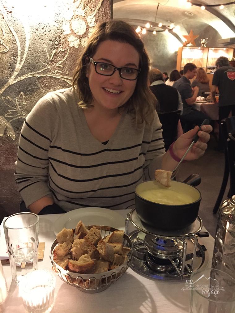Swiss fondue Zurich, Switzerland | My Wandering Voyage travel blog