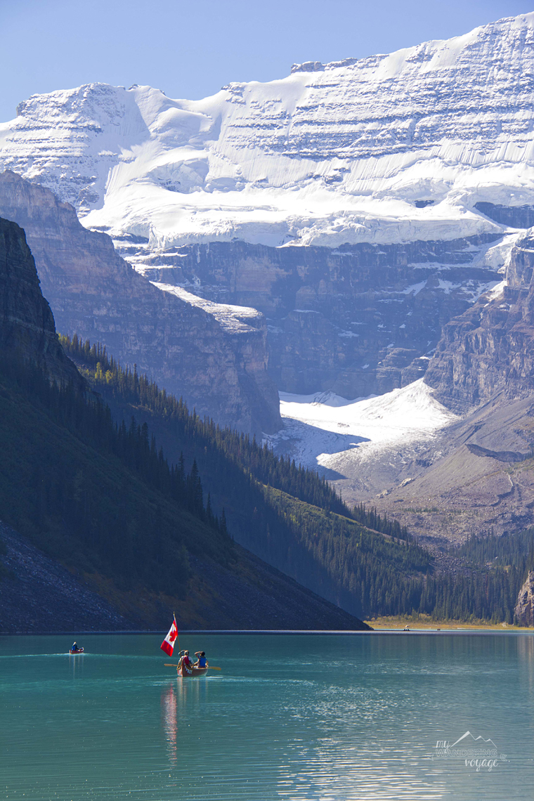 Lake Louise, Canada - How to take better travel photographs | My Wandering Voyage travel blog