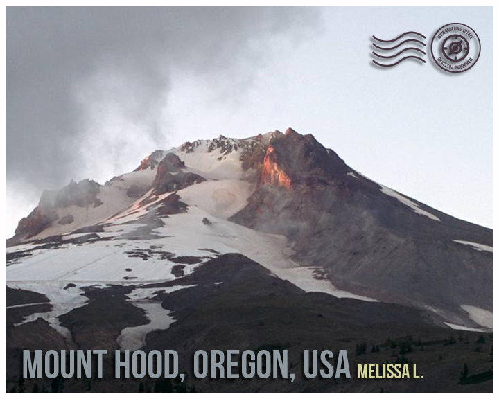 Mount Hood, Oregon, USA - Wandering Postcard | My Wandering Voyage travel blog