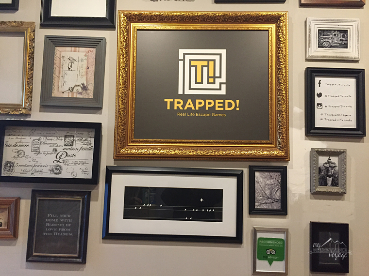 Trapped! Escape room - Top ten things to do in Toronto for first timers | My Wandering Voyage travel blog