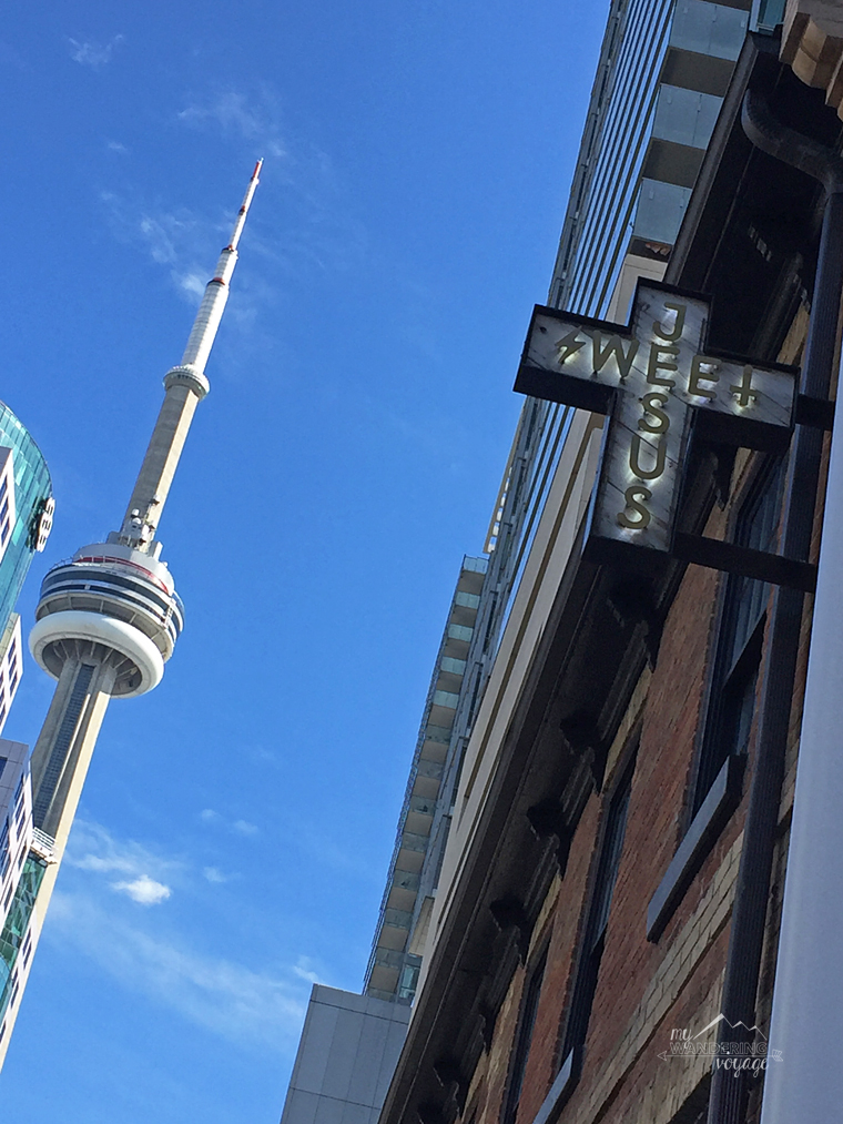 CN Tower, Toronto Canada - Top ten things to do in Toronto for first timers | My Wandering Voyage travel blog