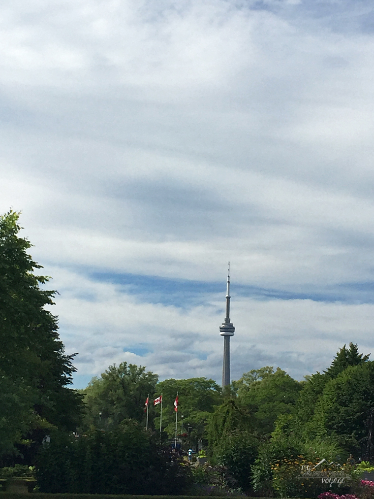 CN Tower from Centre Island - Top ten things to do in Toronto for first timers | My Wandering Voyage travel blog