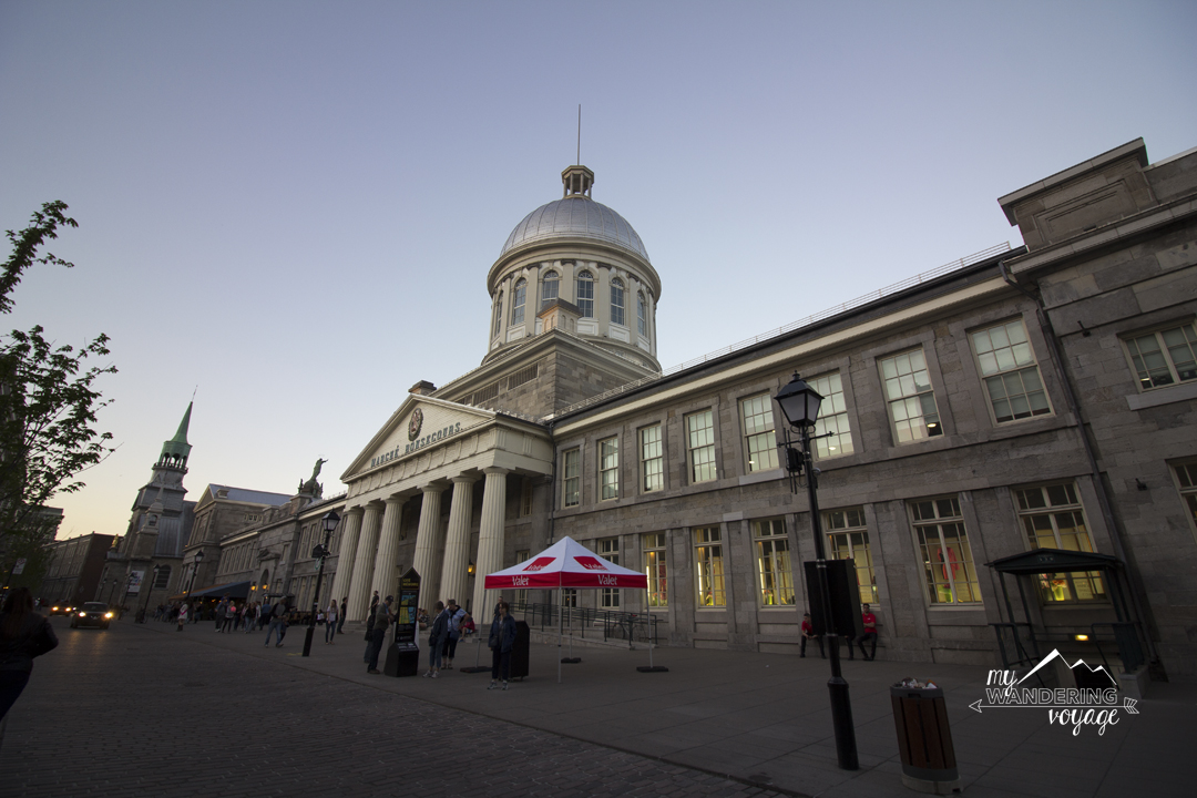 Bonsecours Market in Montreal - 14 essential experiences for a weekend in Montreal, Quebec, Canada | My Wandering Voyage travel blog
