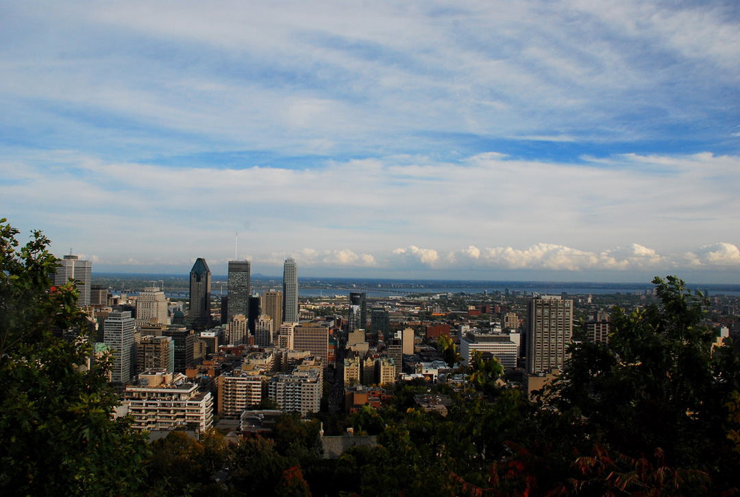 Views from Mont Royal in Montreal - 14 essential experiences for a weekend in Montreal, Quebec, Canada | My Wandering Voyage travel blog