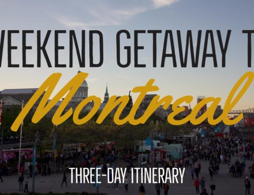 Pack up for the weekend and getaway to lovely Montreal - Three-day Montreal itinerary | My Wandering Voyage travel blog