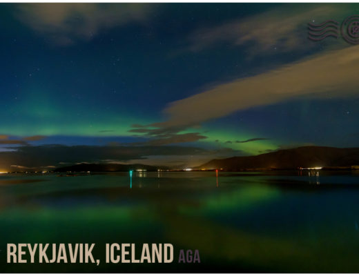Reykjavik, Iceland - Wandering postcard - Submit your postcard and be a part of the Wandering Voyage postcard project   My Wandering Voyage travel blog