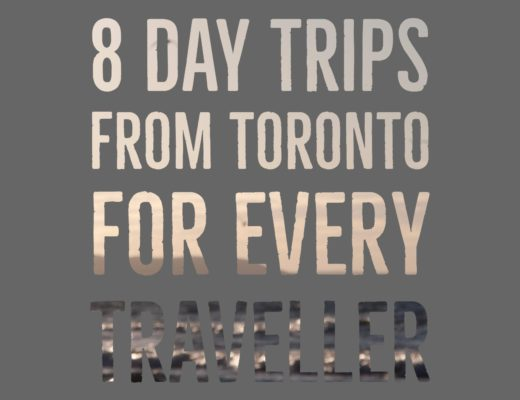 8 day trips from Toronto, Canada for every type of traveller. Check out the spots to go if you're a hiker! If you're a foodie, check out this small city. want to getaway to the beach, then head to this amazing park. | My Wandering Voyage travel blog