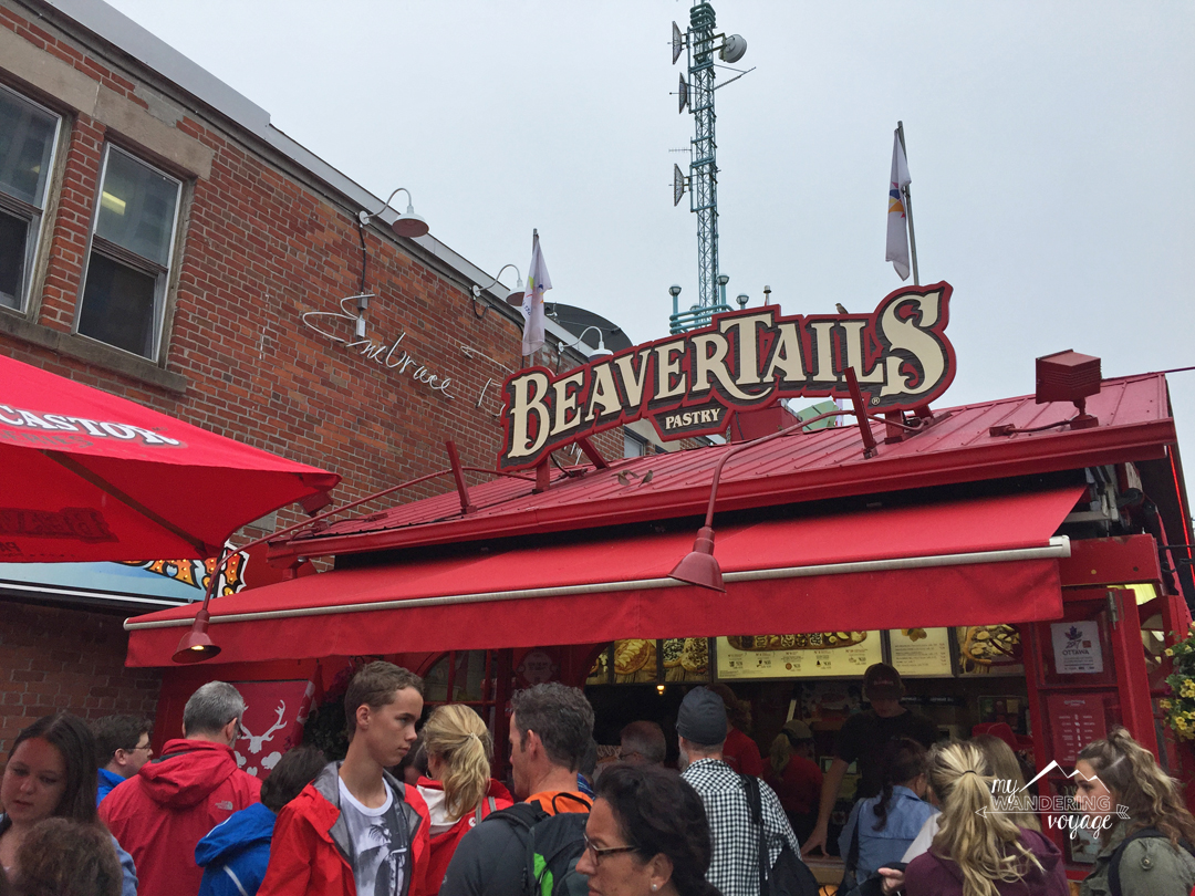 Stuff your face with a delicious beaver tail in Ottawa | My Wandering Voyage travel blog
