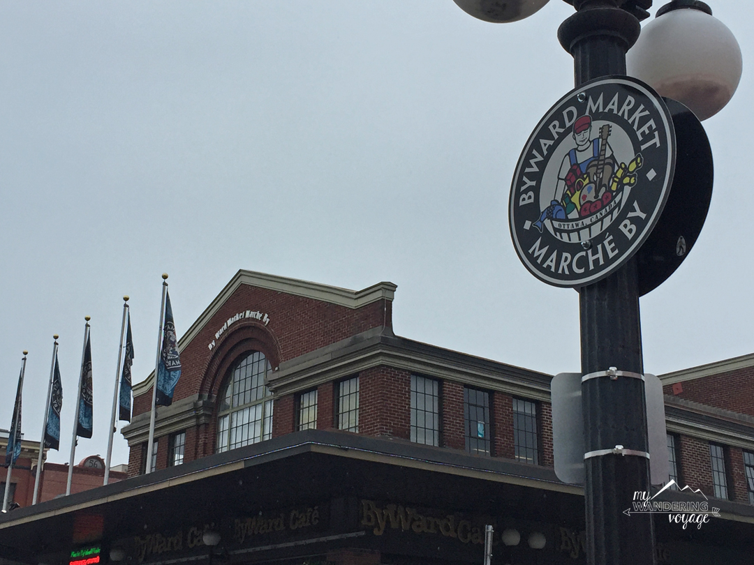 Shop around at the ByWard Market in Ottawa | My Wandering Voyage travel blog