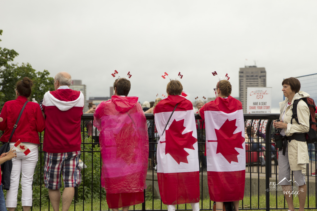 Don the red and white for Canada Day in Ottawa | My Wandering Voyage travel blog