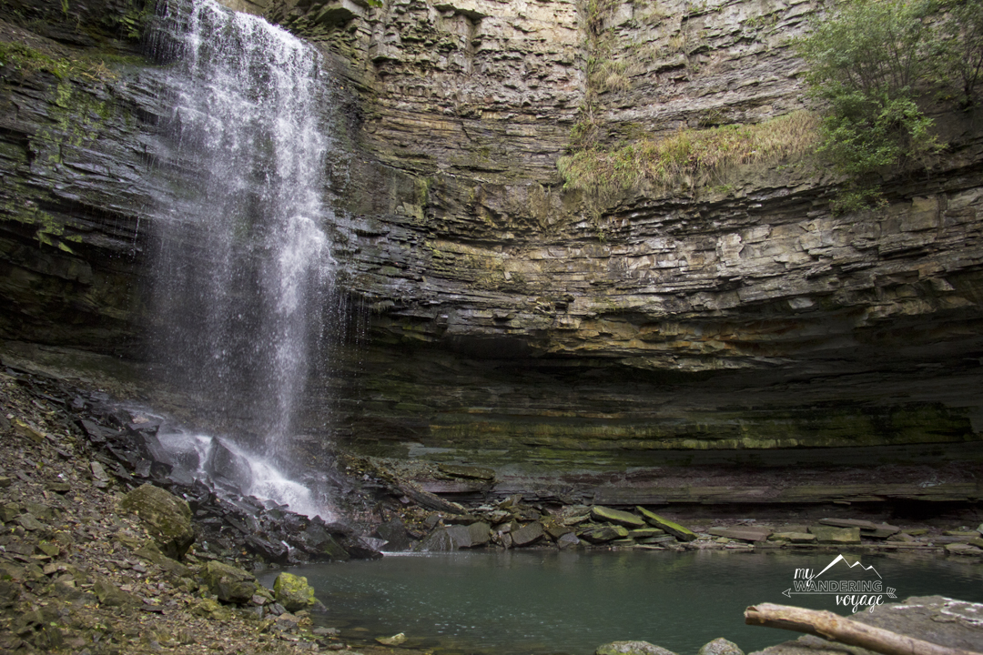 Escape the city and take a day trip to the Hamilton waterfalls | My Wandering Voyage travel blog