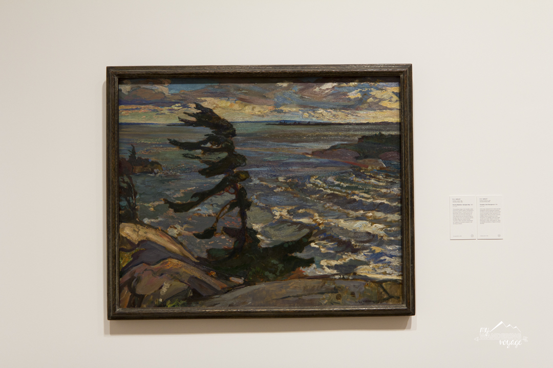 Group of Seven at the National Gallery of Canada in Ottawa | My Wandering Voyage travel blog