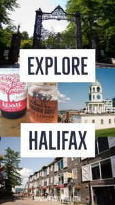 Explore Halifax in a day: walking tour - From its delicious eats, historic buildings and magnificent waterfront, there is much to do in Halifax, Canada. Bring your walking shoes and a camera, because you're going to want to capture the beauty of this city on the Atlantic Ocean | My Wandering Voyage travel blog