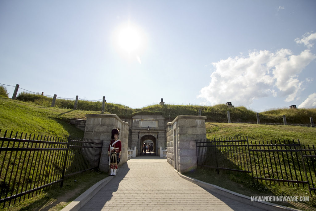 Halifax Citadel Hill From its delicious eats, historic buildings and magnificent waterfront, there is much to do in Halifax. Bring your walking shoes and a camera, because you're going to want to capture the beauty of this city on the Atlantic Ocean | My Wandering Voyage travel blog