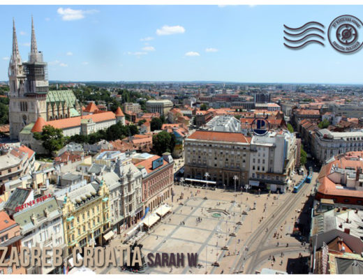 Zagreb Croatia - Wandering Post card | My Wandering Voyage travel blog