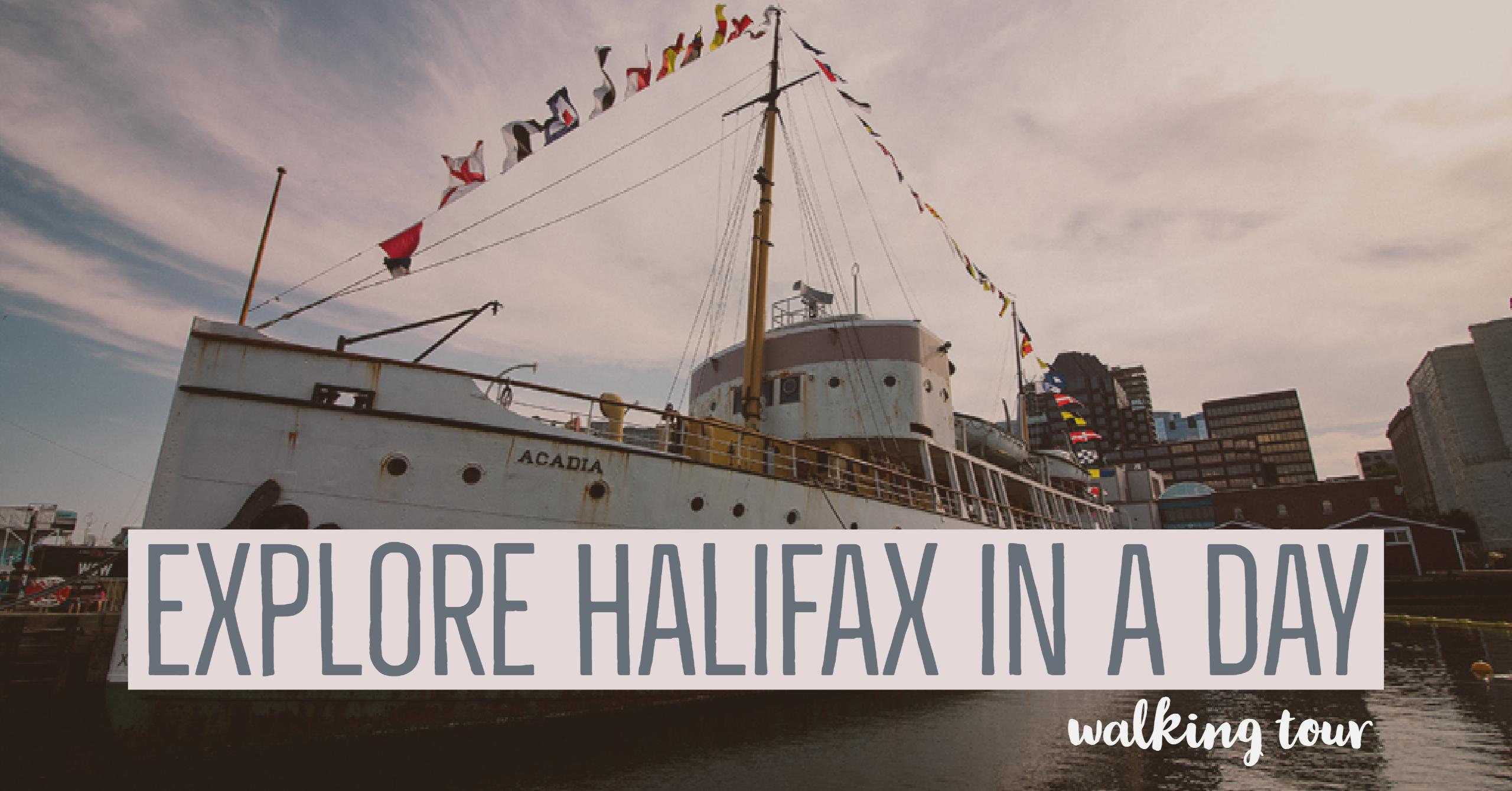 Explore Halifax in a day: walking tour - From its delicious eats, historic buildings and magnificent waterfront, there is much to do in Halifax. Bring your walking shoes and a camera, because you're going to want to capture the beauty of this city on the Atlantic Ocean | My Wandering Voyage travel blog