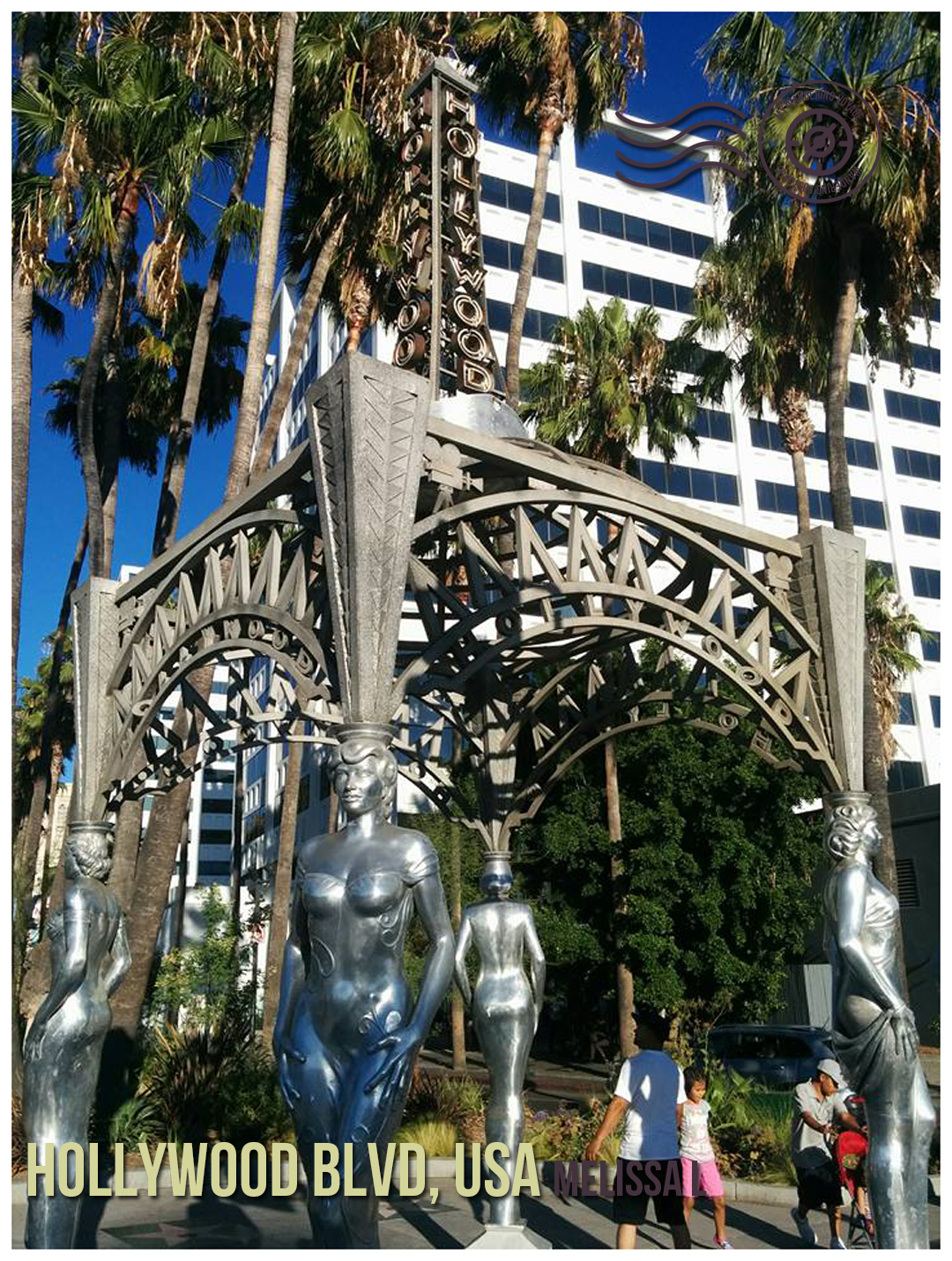 Hollywood Blvd, California, USA - Wandering postcard - postcards from around the world  My Wandering Voyage travel blog