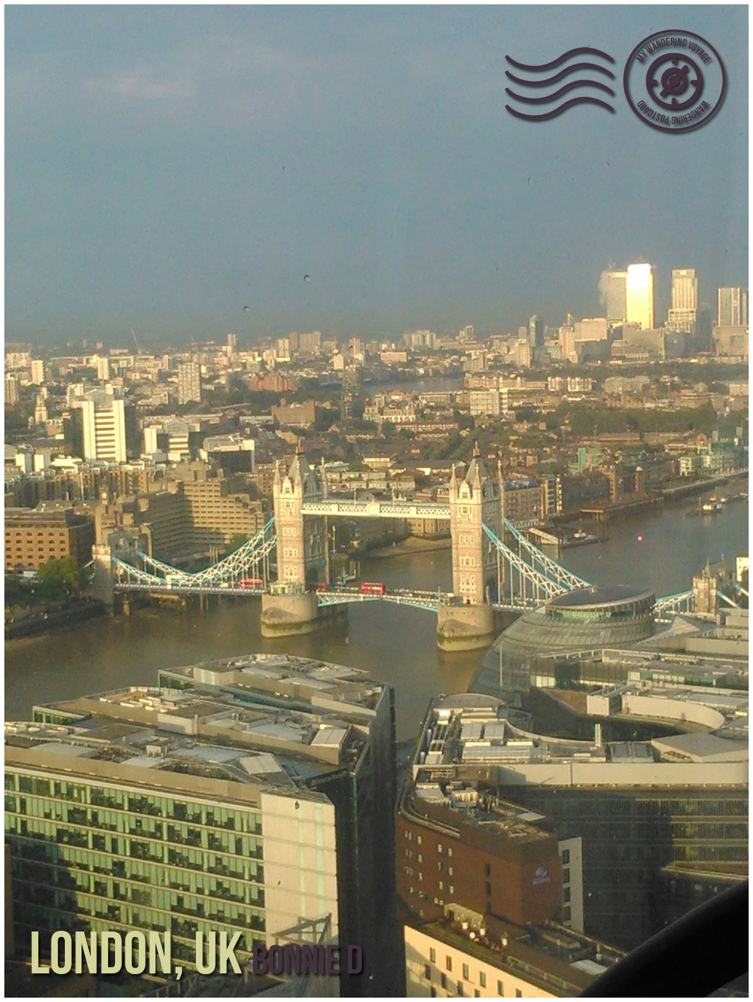 London, UK - Wandering postcard - postcards from around the world  My Wandering Voyage travel blog