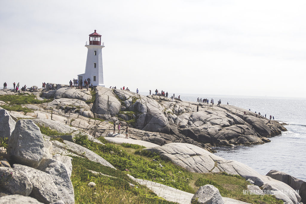The story of Peggy's Cove starts and ends with a lighthouse. Should you go to this popular Nova Scotian tourist attraction? | My Wandering Voyage travel blog