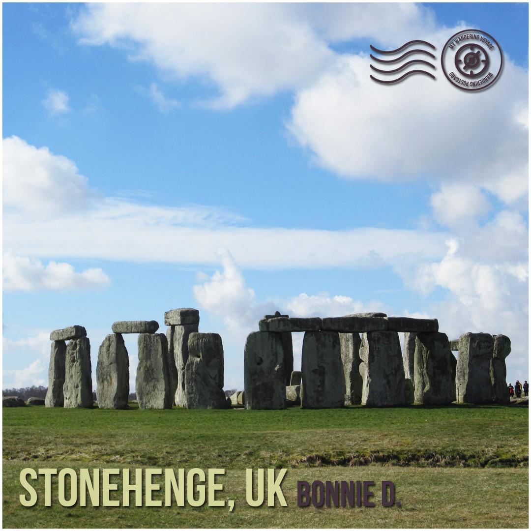 Stonehenge, UK - Wandering postcard - postcards from around the world  My Wandering Voyage travel blog