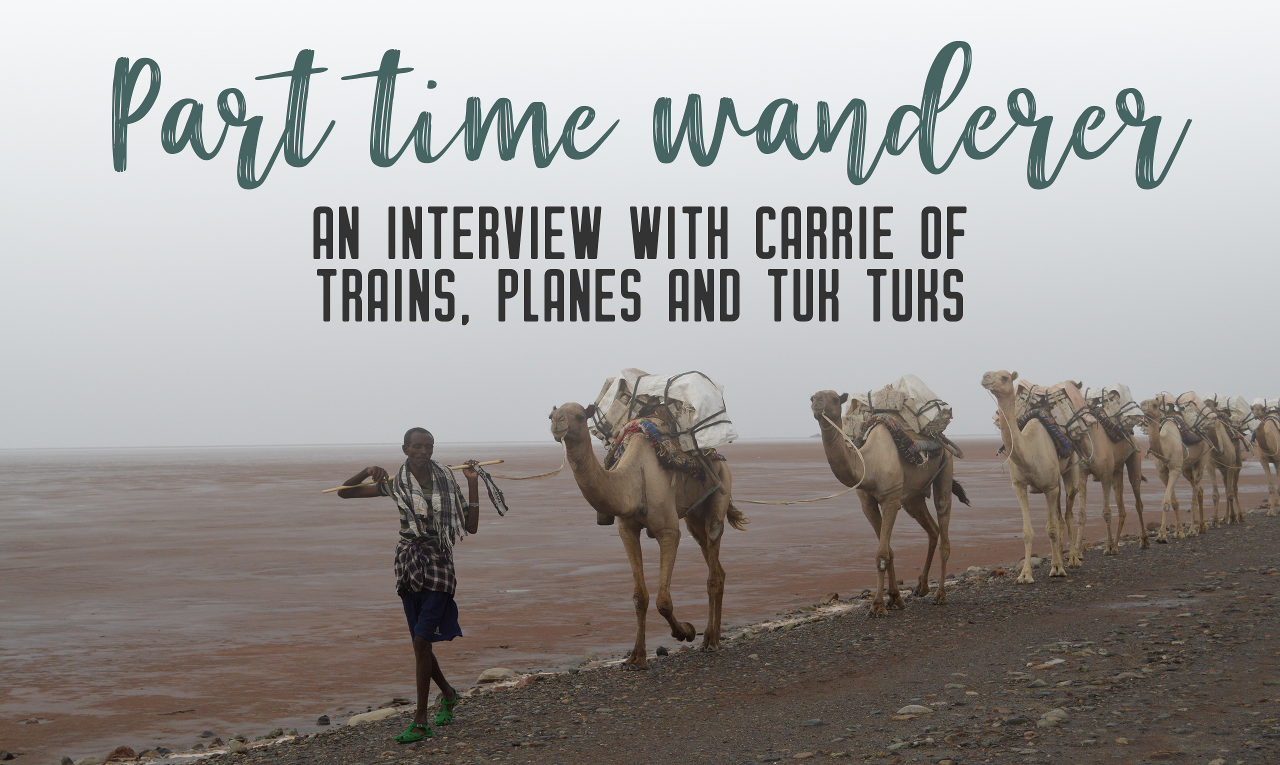Part-time wanderer: Interview with Carrie - Share the love of travelling with other part-time travellers in this interview series. | My Wandering Voyage