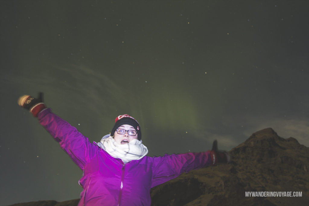 Maybe even catch the northern lights! Experience Iceland through a rental campervan - campervans are the best way to see Iceland on your own schedule | My Wandering Voyage travel blog