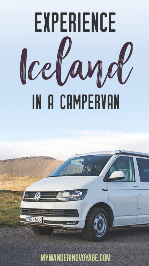 Experience Iceland through a rental campervan - campervans are the best way to see Iceland on your own schedule | My Wandering Voyage travel blog