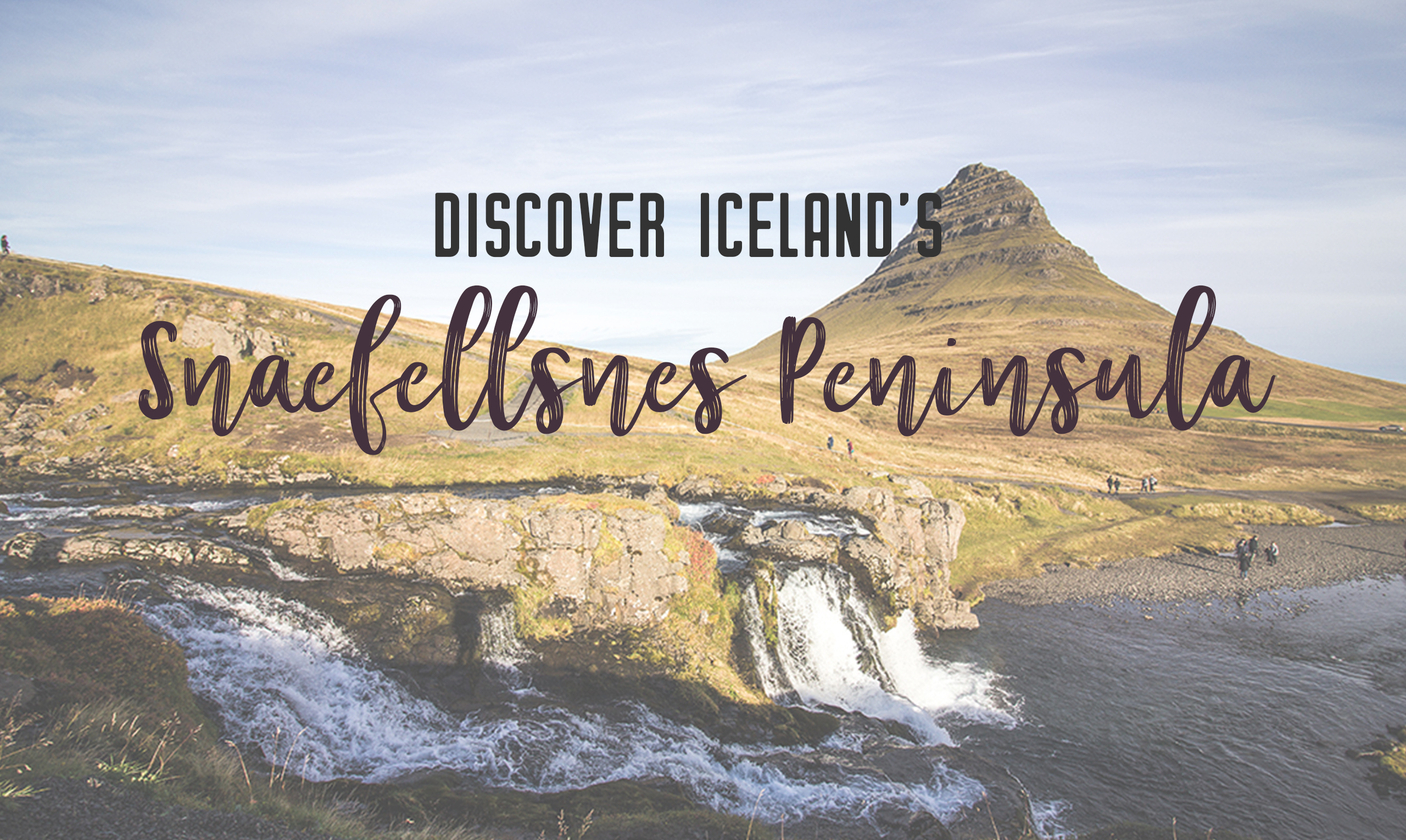 Discover Iceland's underrated destination of Snaefellsnes Peninsula. Explore the famous Kirkjufell mountain, black church, rugged coastline, lava fields, a national park, mountains and volcanoes. | My Wandering Voyage travel blog
