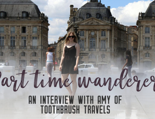 Part-time wanderer: Interview with Amy - Share the love of travelling with other part-time travellers in this interview series. | My Wandering Voyage travel blog