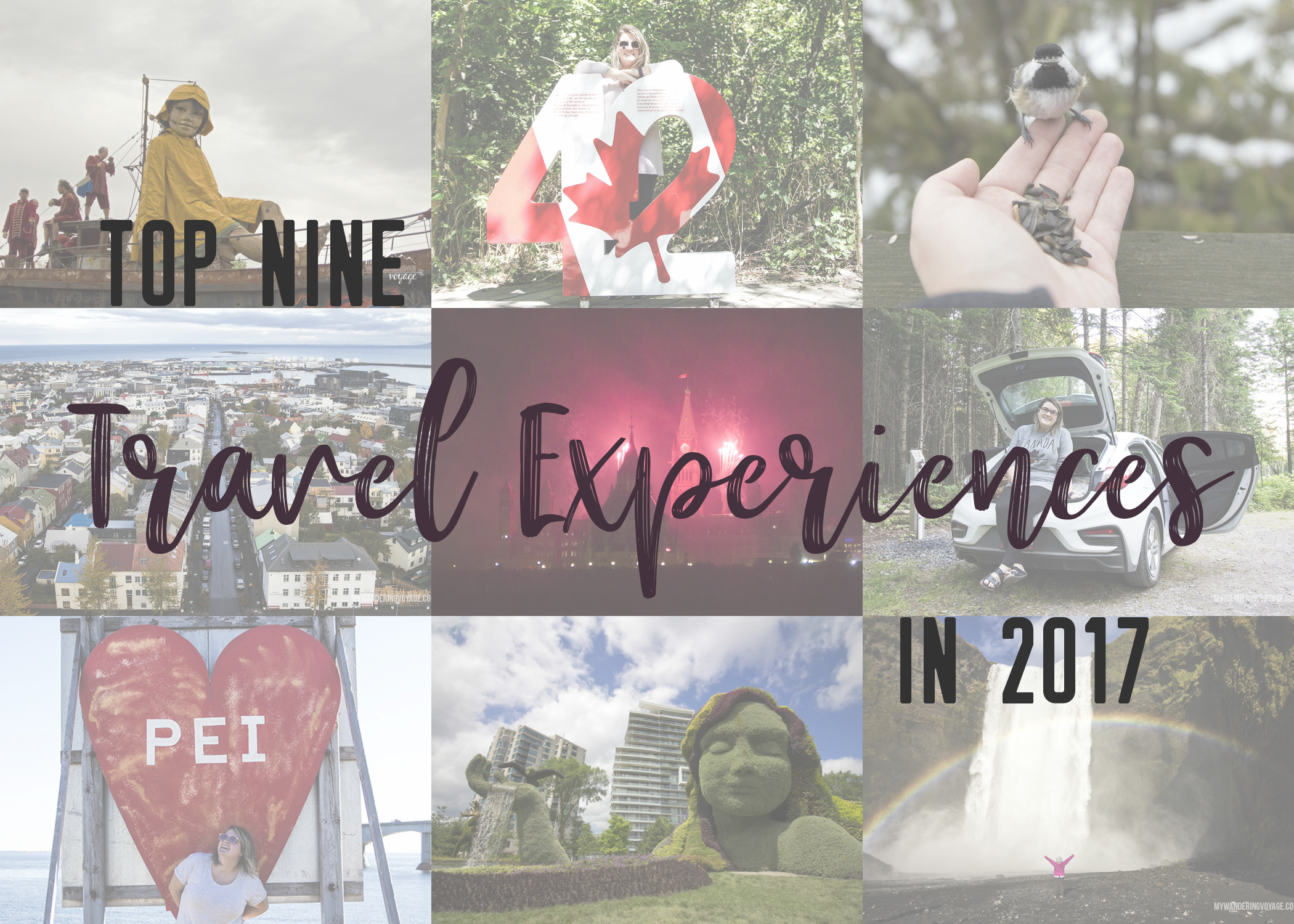 Thank you 2017 for being stellar, here's to 2018 and many more travel experiences ahead! | My Wandering Voyage travel blog