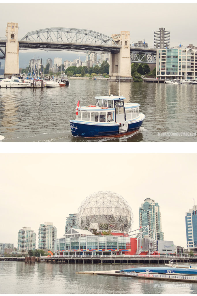 False Creek From urban eats to nature walks, Vancouver, Canada's western metropolis, is ready for you to explore. Take in Stanley Park and get to know Vancouver's neighbourhoods with this two-day itinerary. | My Wandering Voyage #Vancouver #BritishColumbia #Canada #travel #itinerary #Canadatravel