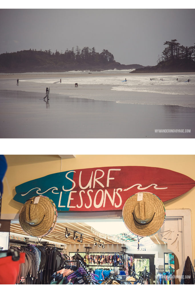 Surf Sister Tofino | Explore the mighty and wild Tofino, British Columbia. This western coastal town on Vancouver Island is perfect for every adventurer. Try surfing or eat your way through town. #tofino #britishcolumbia #ExploreBC #exploreCanada