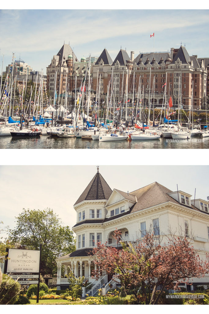 Historic Charm | Victoria, BC, located on Vancouver Island, is a regal city ready for exploring. So whether you stay for a day or a week, there's always something charming to do in Victoria, BC. #VictoriaBC #BritishColumbia #Canada #exploreCanada #exploreBC