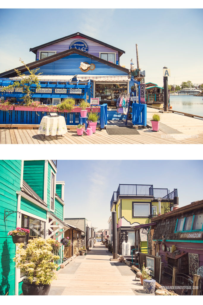 Fisherman's Wharf   Victoria, BC, located on Vancouver Island, is a regal city ready for exploring. So whether you stay for a day or a week, there's always something charming to do in Victoria, BC. #VictoriaBC #BritishColumbia #Canada #exploreCanada #exploreBC