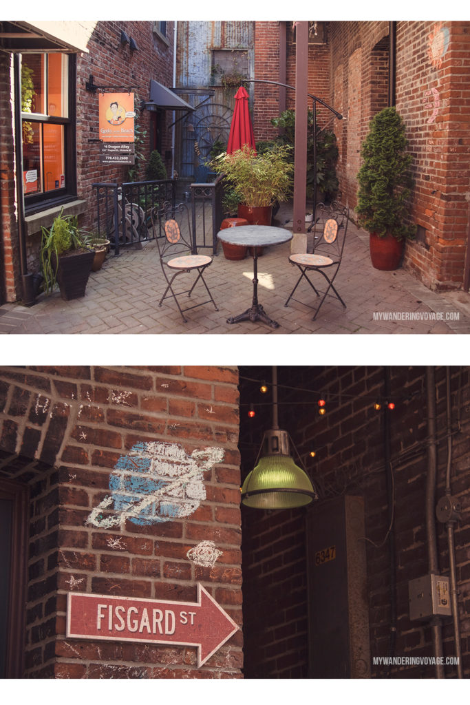 Dragon Alley, Chinatown   Victoria, BC, located on Vancouver Island, is a regal city ready for exploring. So whether you stay for a day or a week, there's always something charming to do in Victoria, BC. #VictoriaBC #BritishColumbia #Canada #exploreCanada #exploreBC