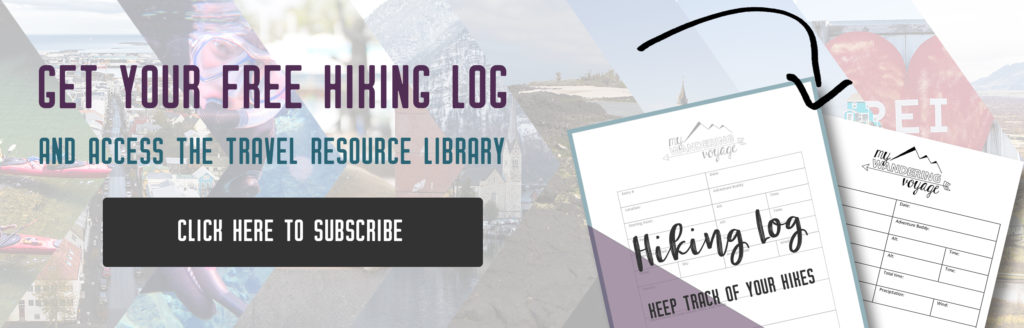 Why you Should use a Hiking Log for your Adventures | My