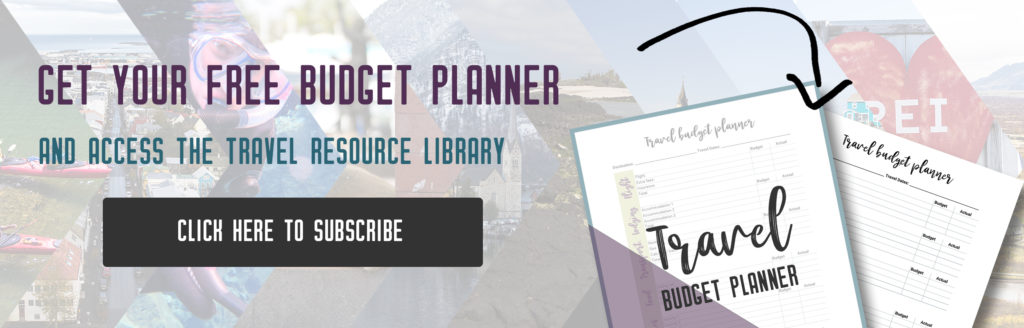 Get your free Travel Budget Planner | My Wandering Voyage travel blog