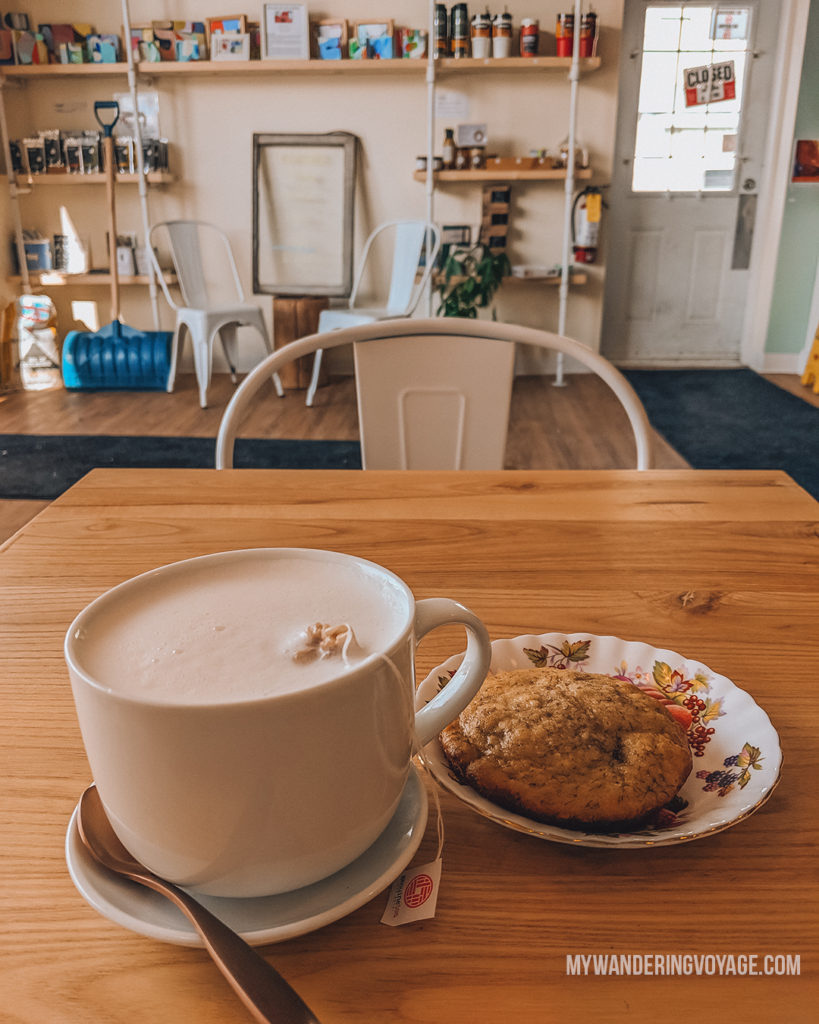 Elora Cafe | The ultimate list of things to do in Elora, Ontario. Visit Elora for its small town charm, natural beauty and one-of-a-kind shops and restaurants | My Wandering Voyage travel blog